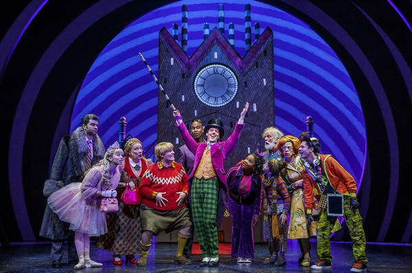 Charlie and the Chocolate Factory Production Photo